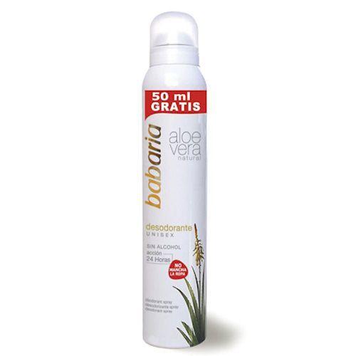Babaria Desodorizante Spray Aloe-Vera 200ML
