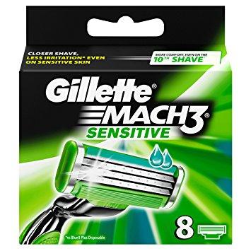 Gillette Mach 3 Sensitive Power