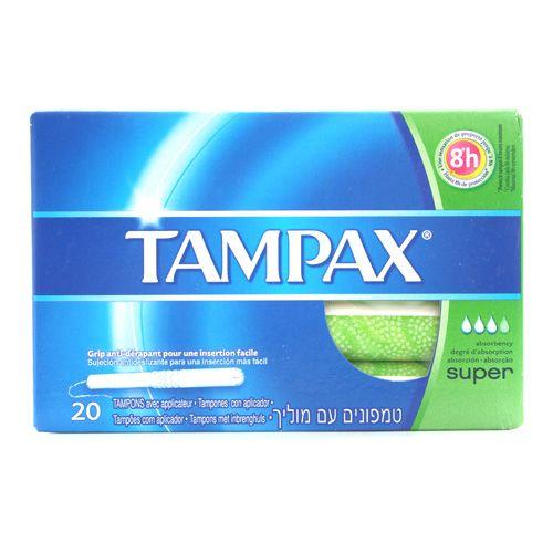 Tampax Super 20 Unid